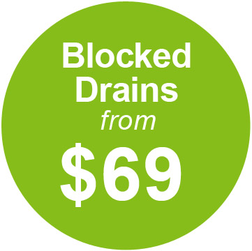 blocked drains from $69