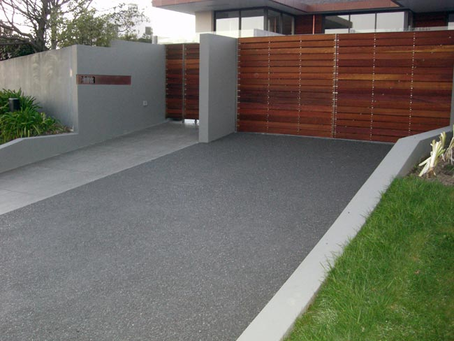 Concrete driveways for adelaide homes and businesses for Cement driveway ideas