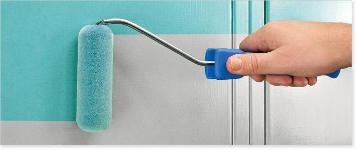 Foam Brush Painting Tips