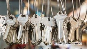 keys hanging from hook