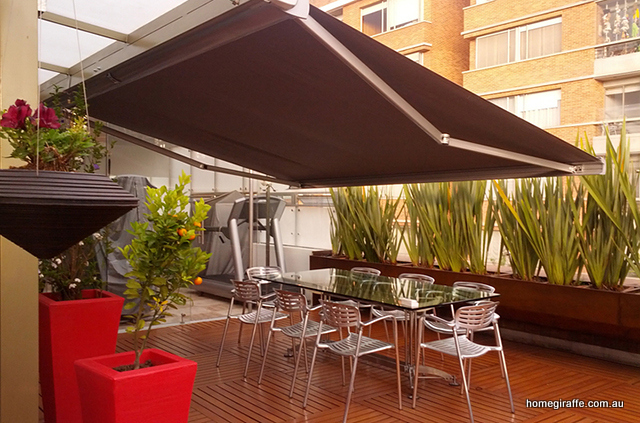 Make Your Home Or Building The Envy Of Neighbours As Awnings Effortlessly Fold Away