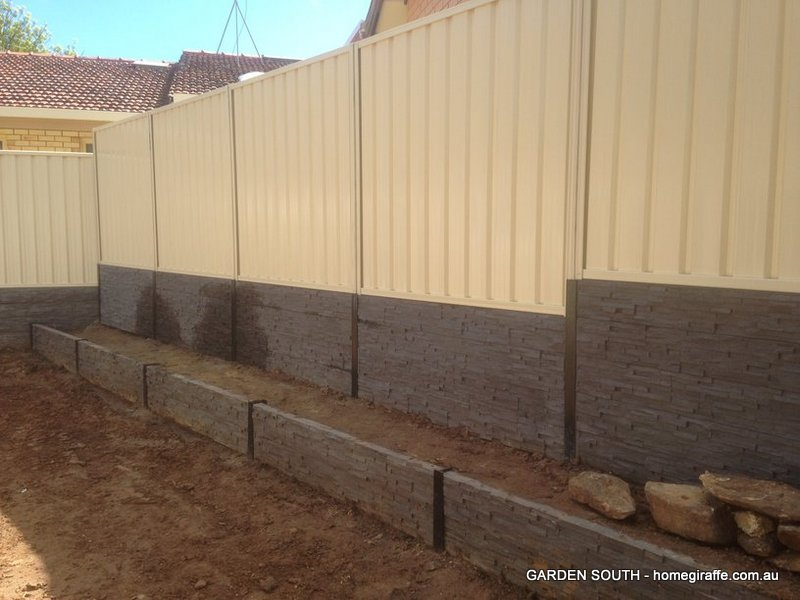Landscaping blackwood red earth landscape construction for Retaining wall contractors adelaide
