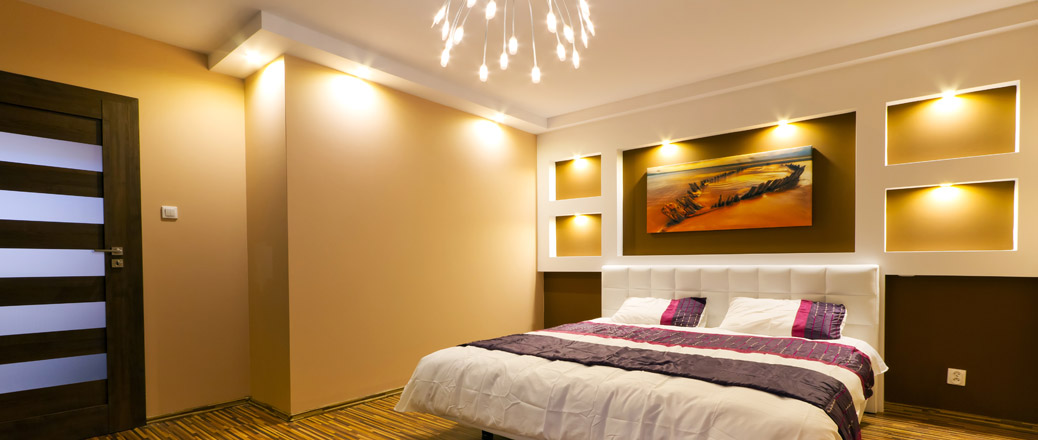 downlights for the bedroom