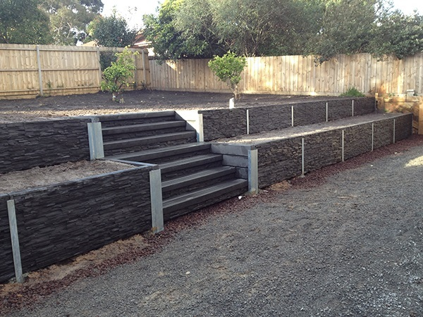 Tc de ron retaining walls nairne ph 0438 151 921 for Retaining wall contractors adelaide