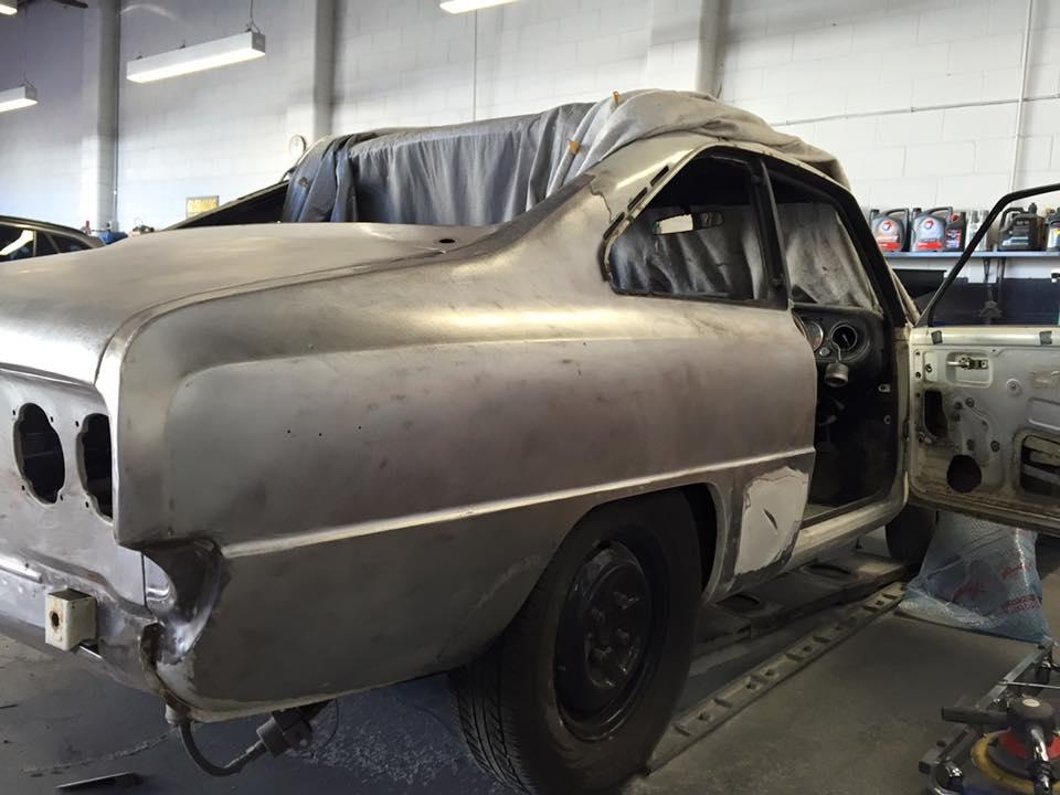 car repair in shop