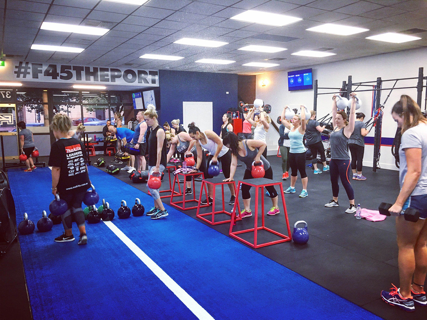 Gyms largs bay call f training on