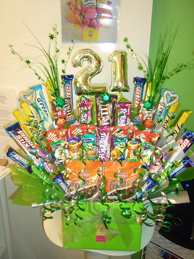 edible lilly bouquet