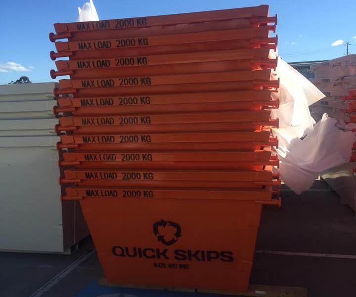 disposal bins