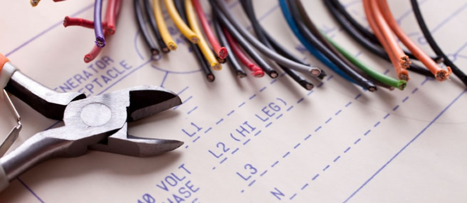 electrical tools on desk