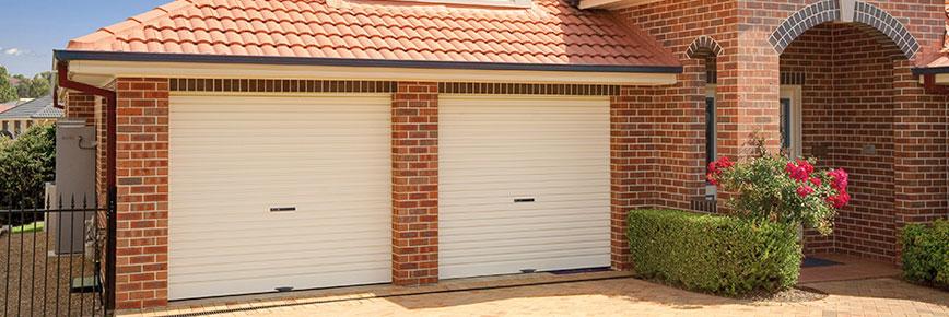affordable white garage roller door