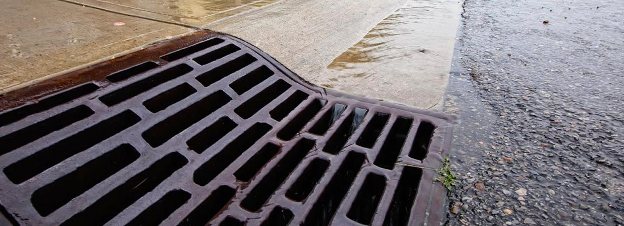 rain water drainage system