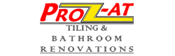 company logo for prozat tiling