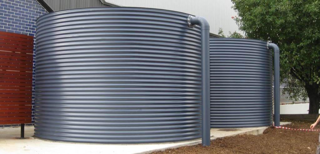 colorbond rain water tank